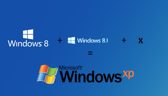 windows-xp-kalmaya-devam-etmeye-calisiyor - Microsoft' un en son güncel işletim sistemleri olan Windows 8, Windows 8.1 varken bile Windows XP severler Windows XP' den vazgeçmiyor.
